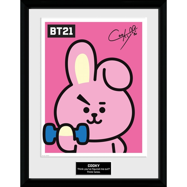 BT21 - Cooky Collector Print