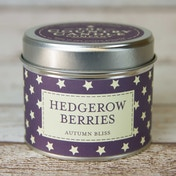 Hedgerow Berries (Superstars Collection) Tin Candle