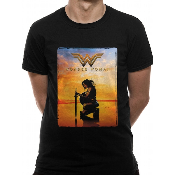 Wonder Woman Movie - Sword Men's Small T-Shirt - Black