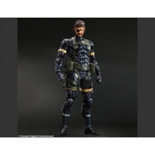 Square Enix Metal Gear Solid V Ground Zeroes Snake Play Arts Kai Action Figure