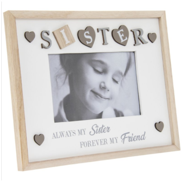 """Sentiments Frame Sister 4X6"""" By Lesser & Pavey"""