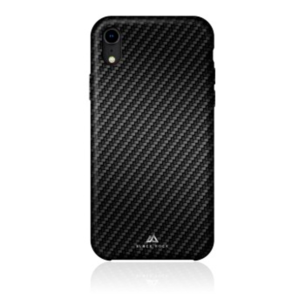 Black Rock - Flex Carbon Cover for Apple iPhone XR, black (1 ACCESSORES)