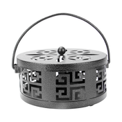 Oriental Metal Incense Holder | M&W Black