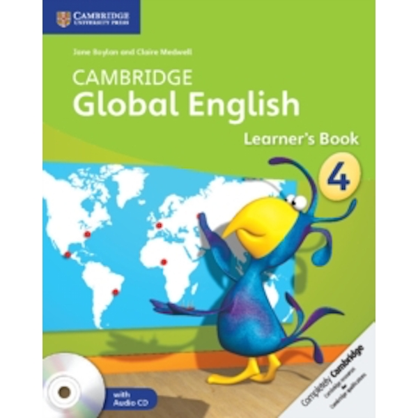 Cambridge Global English Stage 4 Learner's Book with Audio CD (2) by Claire Medwell, Jane Boylan (Mixed media product, 2014)