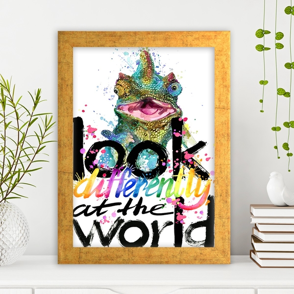 AC625774535 Multicolor Decorative Framed MDF Painting