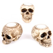 Celtic Skull Head (Pack Of 6) Tea Light Holder