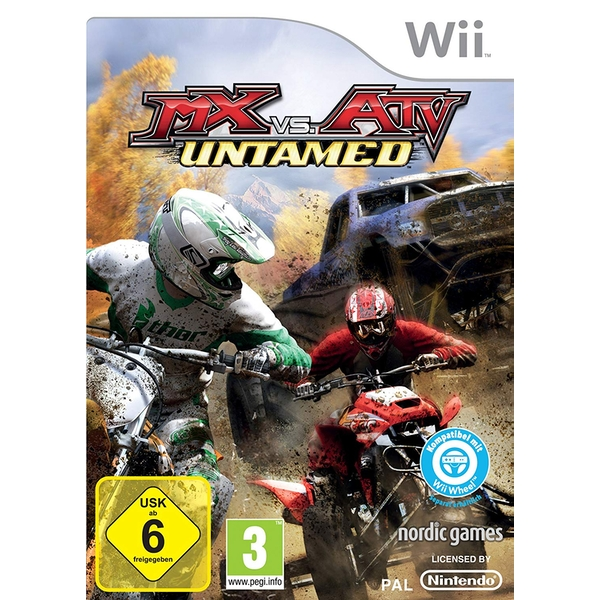 MX vs ATV Untamed Game Wii [German Version]