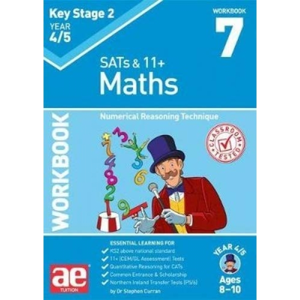 KS2 Maths Year 4/5 Workbook 7 Numerical Reasoning Technique Paperback / softback 2018