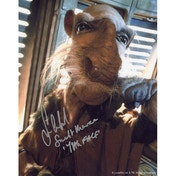 Star Wars 10X8 In Person Signed Saelt-Marae (Yak Face) - Sean Crawford (B)