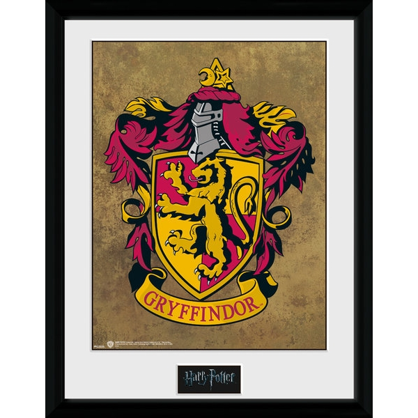 Harry Potter Gryffindor 30 x 40cm Collector Print