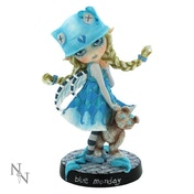 Blue Monday Fairy Figurine