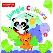 Fisher Price First Focus Frieze Jungle Colours by Mattel (Novelty book, 2013)