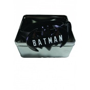 Batman Logo Metal Buckle Belt In A Tin