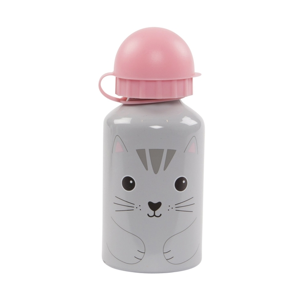 Sass & Belle Nori Cat Kawaii Friends Kids Water Bottle