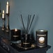 Coconut & Mango (Wonderwick) Noir Glass Candle - Image 4