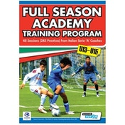SoccerTutor Full Season Academy Training Program U13-15 Book