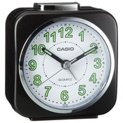 Casio TQ-143S-1EF Alarm Clock with Light and Snooze - Black
