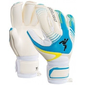 Precision Womens Fusion-X Pro Roll GK Gloves Size 5 (Blue/White)