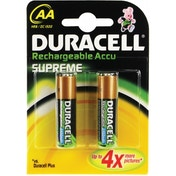 Duracell Supreme AA 2 Pack HR06-X2