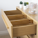 Bamboo Adjustable Drawer Dividers - Pack of 4   M&W Small - Image 2