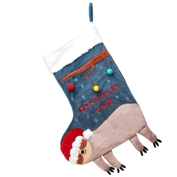 Sass & Belle Christmas Chill Sloth Stocking