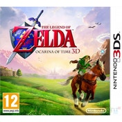 The Legend Of Zelda Ocarina Of Time 3D Game 3DS