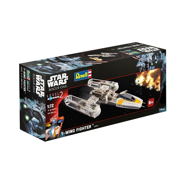 Y-Wing (Rogue One A Star Wars Story) Level 2 Revell 1:72 Model Kit