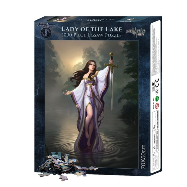 Lady of the Lake (1000pcs) Jigsaw Puzzle