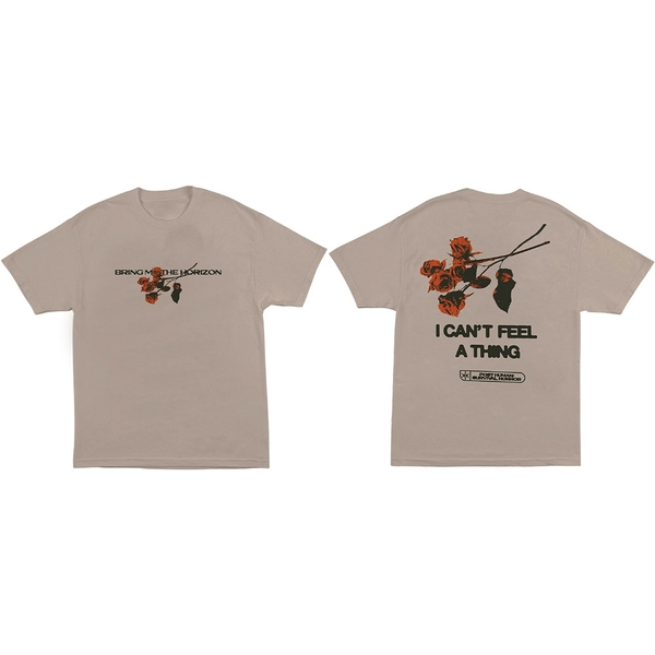 Bring Me The Horizon - Flowers Unisex X-Large T-Shirt - Neutral