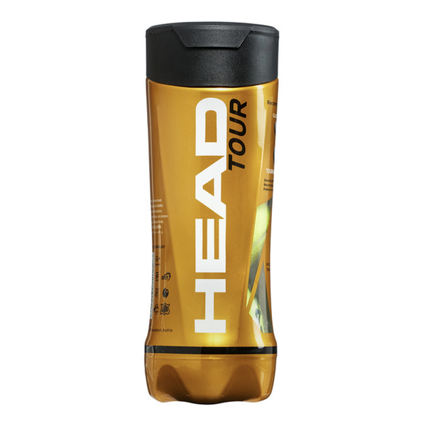 Head Tour Tennis Balls - Tube of 3