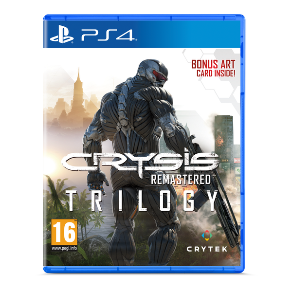 Crysis Remastered Trilogy PS4 Game