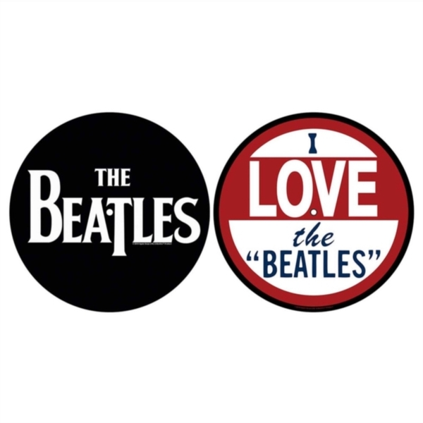 Beatles - I Love The Beatles Slipmat Set