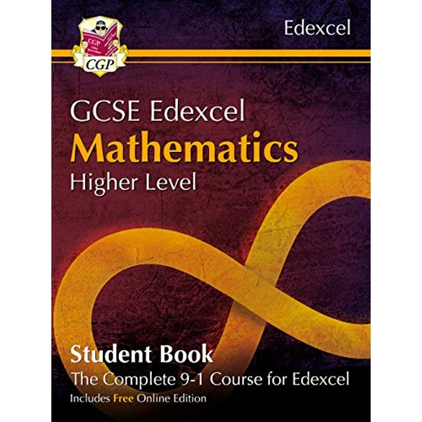 New Grade 9-1 GCSE Maths Edexcel Student Book - Higher (with Online Edition)  Paperback / softback 2018
