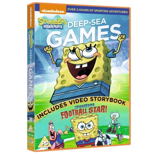 SpongeBob Squarepants: Deep-sea Games DVD