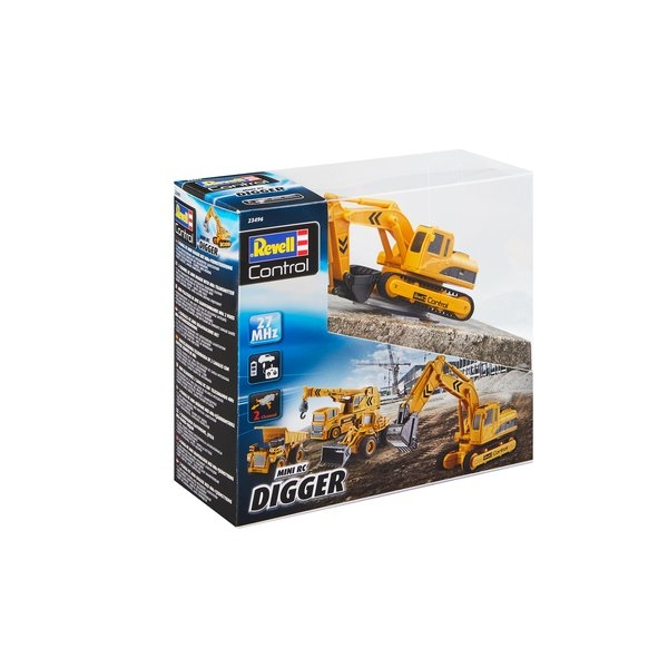 Mini Digger Revell Control Model