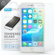 YouSave Accessories iPhone 6 / 6s Glass Screen Protector