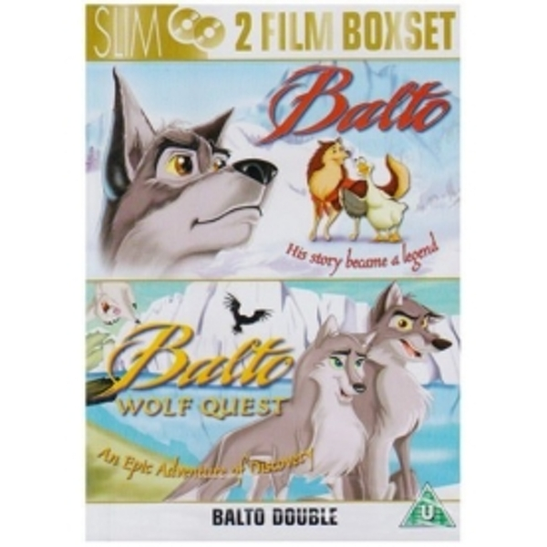 Balto 1 & Balto 2: The Wolf Quest DVD