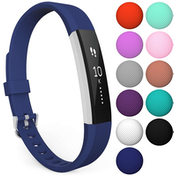 Yousave Fitbit Alta / Alta HR Strap Single Small - Dark Blue