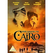 Five Graves To Cairo 1943 DVD