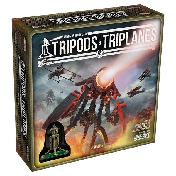 Wings of Glory - Tripods & Triplanes: Starter Set