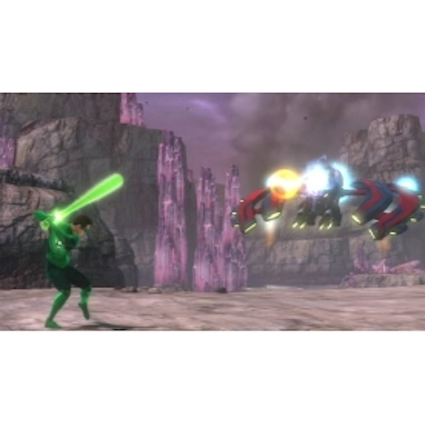 Green Lantern Rise of the Manhunters Game 3DS - Image 4