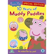 Peppa Pig 10 Years Of Muddy Puddles DVD