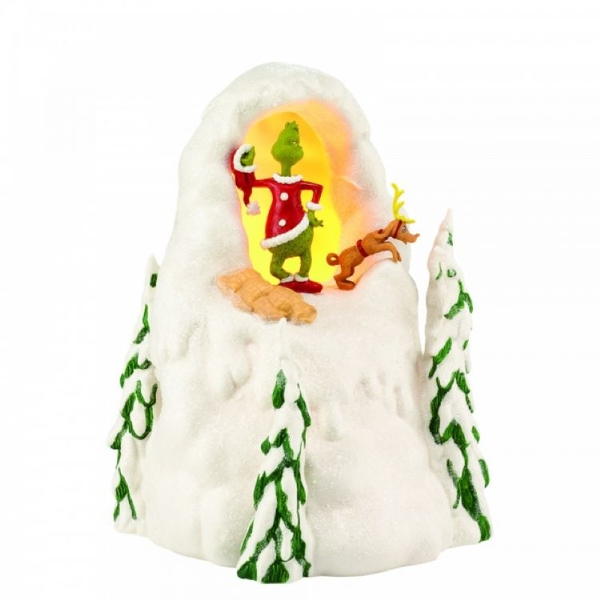 Mt. Crumpit (Grinch) Ornament (UK Plug)