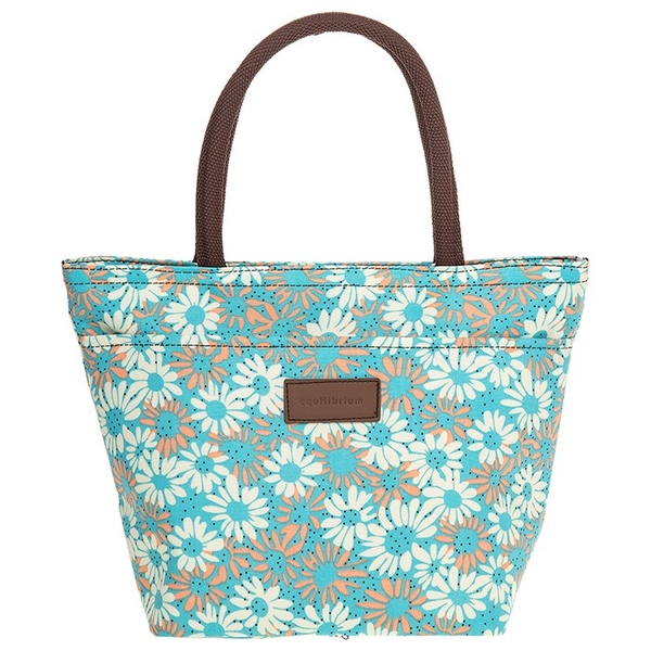 Equilibrium Daisy Waterproof Handbag Pale Blue