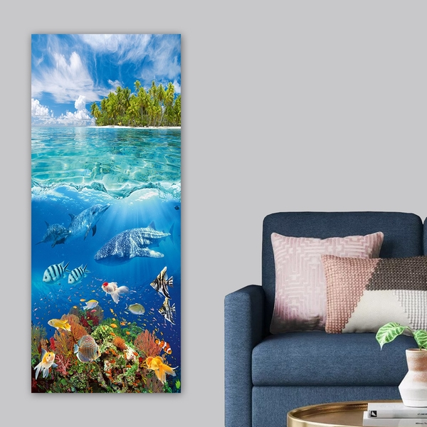 DKY102063_50120 Multicolor Decorative Canvas Painting