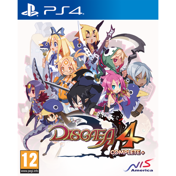 Disgaea 4 Complete+ A Promise of Sardines Edition PS4 Game