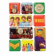 Epoxy Magnet Set - The Beatles (Sgt Pepper)