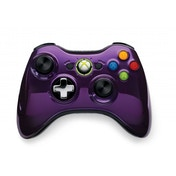 Official Microsoft Purple Chrome Wireless Controller Xbox 360