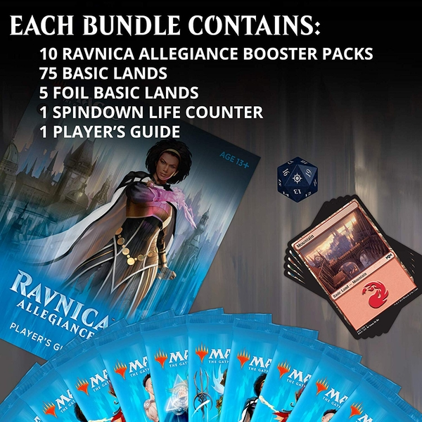 Magic The Gathering - Ravnica Allegiance Bundle - Image 1
