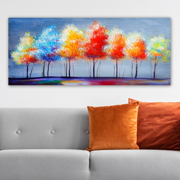 YTY1445504924_50120 Multicolor Decorative Canvas Painting